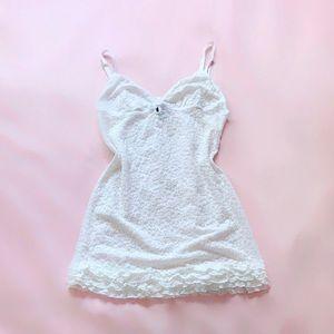 victoria's secret ⋆ ruffle lace nightie